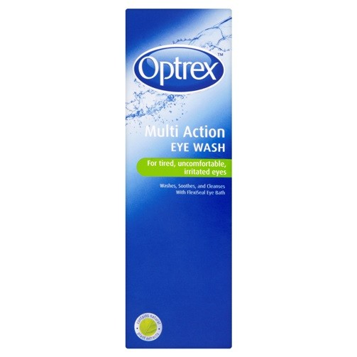 Optrex Multiaction Eye Wash with Eye Bath x 300ml