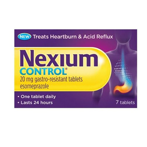 Nexium Control 20mg 7 Tablets