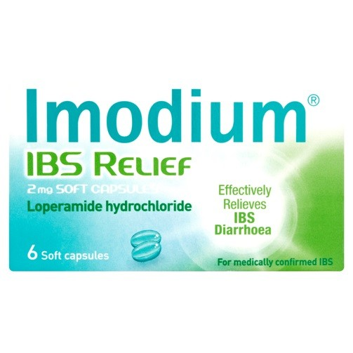 Imodium IBS Relief 2mg Soft Capsules 6s