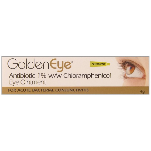 Golden Eye Antibiotic 4g Conjunctivitis Relief