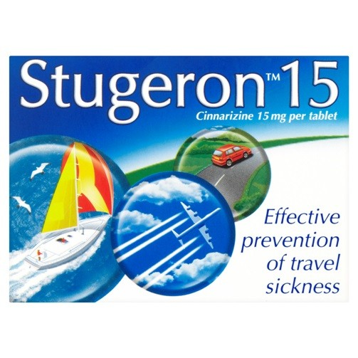 Stugeron Travel 15mg Motion Sickness
