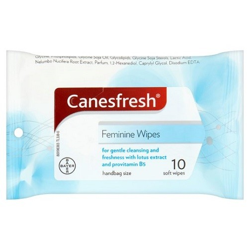 Canesten Fresh Feminine Wipes Pack of 10