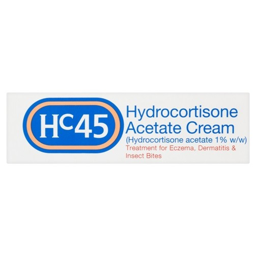 Hc45 Cream 15g Skin Allergy & Irritation Relief