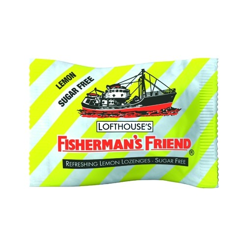 Fisherman`S Friend Sugar Free Lemon  Lozenges 25g