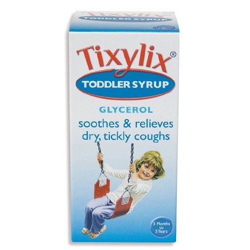 Tixylix Toddler Syrup Sugar Free Cough Medicine 100ml