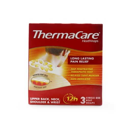 Thermacare Therapeutic Heat Wraps Neck Shoulder and Wrist