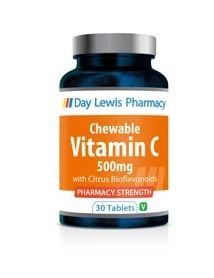 Day Lewis Vitamin C 500mg Chewable Tablets Pack of 30