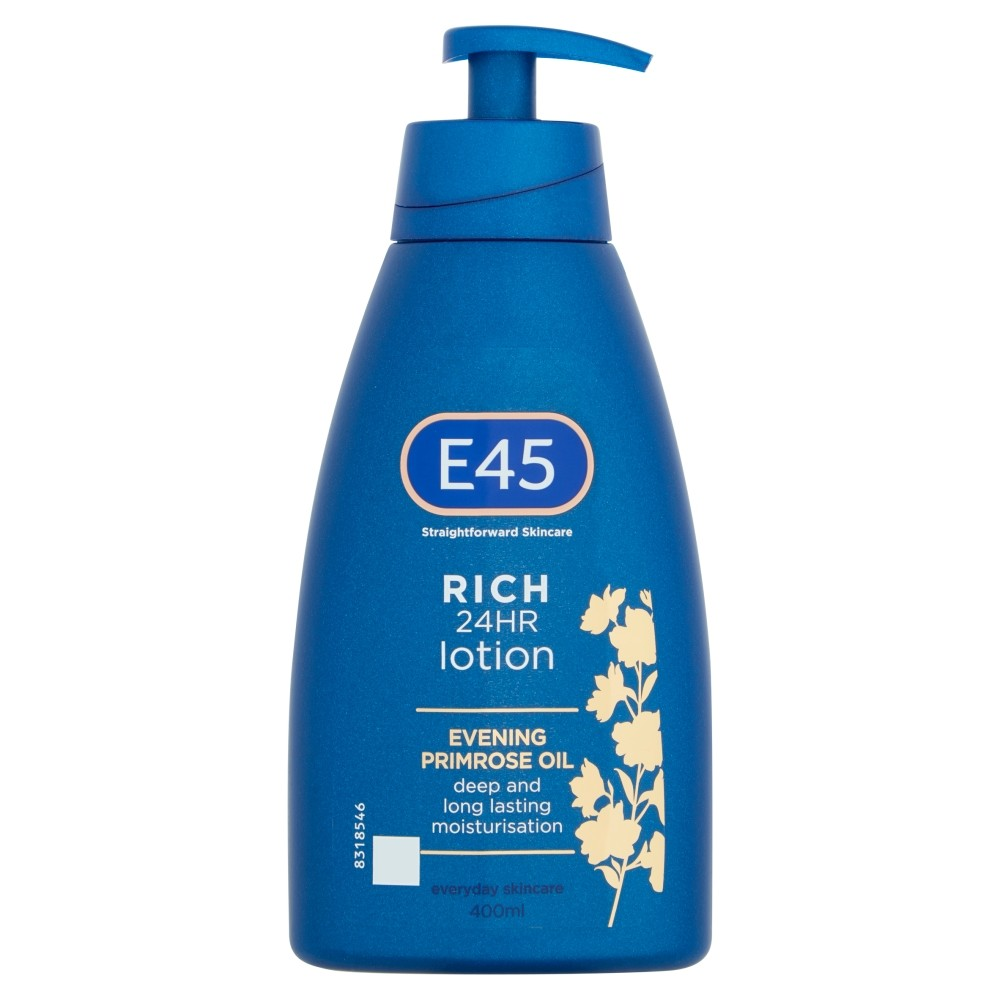 E45 Skincare Rich 24HR Lotion 400ml