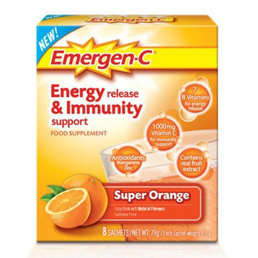 Emergen-C Super Orange 8s