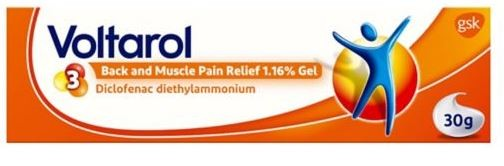 Voltarol Back & Muscle Pain Relief Emugel 1.16% Gel 30G