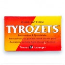 Tyrozets 24 Throat lozenges