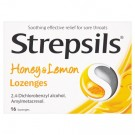 Strepsils Honey & Lemon - 16 Lozenges