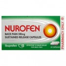 Nurofen Back Pain Sustained Release 300mg – 24 Capsules