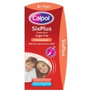 Calpol Six Plus Sugar Free Strawberry Suspension 80ml