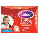 Calpol SixPlus Strawberry 24 Fastmelts