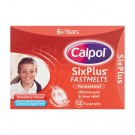 Calpol SixPlus Strawberry 12 Fastmelts