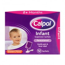 Calpol Infant Suspension 12 Sachets