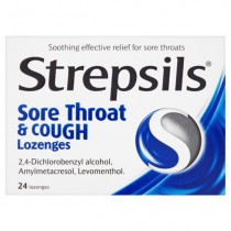 Strepsils Sore Throat & Cough - 24 Lozenges