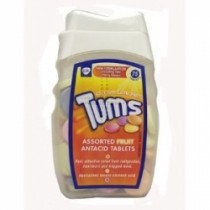 Tums Assorted Fruit Antacid tablets Jar 75