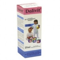Dalivit Multivitamin Drops 25ml