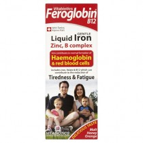 Vitabiotics Feroglobin-B12 Iron Supplement Liquid 200ml [Per