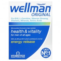 Vitabiotics Wellman Advanced Vitamin & Mineral Supplement 30