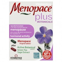 Vitabiotics Menopace Plus  56 Tablets 2x28 Dual Pack  1 Mont