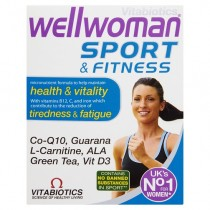 Vitabiotics Wellwoman Sport and Fitness Tablets 30 Capsules
