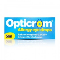 Opticrom Allergy 5ml 0.02 Itchy Irritated Eye Relief