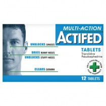 Actifed Multi-Action 12 Cold & Flu Symptom Relief