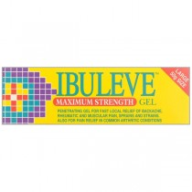 Ibuleve Max Strength 50g Muscular Pain Relief