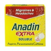 Anadin Extra Soluble Tablets x 12