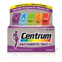 Centrum Advance 50+ Womens Multivitamins & Minerals - 30 Tablets