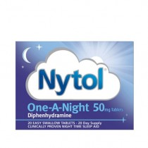 Nytol One-A-Night 50mg 20 Tablets