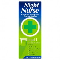 Night Nurse Original 160ml Cold & Flu Symptom Relief
