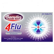 Benylin 4-Flu 24 Cold & Flu Symptom Relief