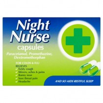 Night Nurse Original 10 Cold & Flu Symptom Relief