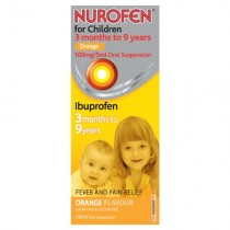 Nurofen For Children Orange Flavour x 100ml