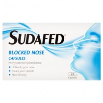 Sudafed Blocked Nose – 24 Capsules