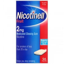 Nicotinell Fruit 96 2mg Nicotine Withdrawal Relief