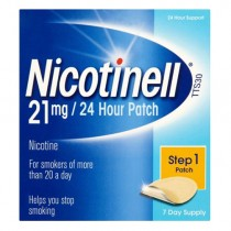 Nicotinell 24 Hour Large 21mg Patch - Step 1