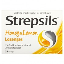 Strepsils Honey & Lemon - 24 Lozenges