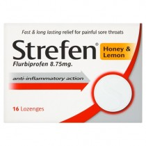 Strefan Strepsils Strefen Honey & Lemon Lozenges x 16
