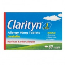 Clarityn Allergy Relief 10mg - 60 Tablets