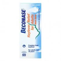 Beconase Hayfever Relief Nasal Spray for Adults - 100 Sprays