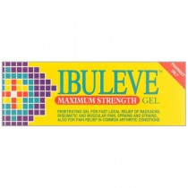 Ibuleve Max Strength 30g Muscular Pain Relief