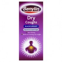 Benylin Dry Coughs Blackcurrant 150ml