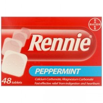 Rennie Peppermint - 48 Tablets