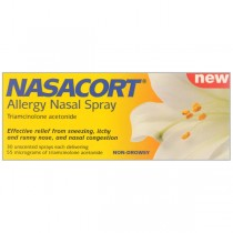 Nasacort Allergy 30 doses Hayfever & Allergy Relief