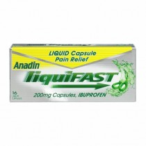 Anadin Liquifast Back and Muscle Pain 200mg x16